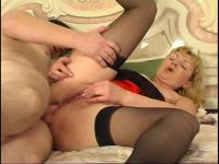 Emilia and John anal mom on video