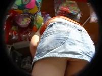 Student upskirt in the college