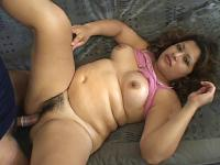 Pregnant Cutie Spreading Her Twat