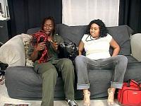 Plump Preggy Ebony Cock Crammed