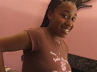 First Time Pretty Ebony Stripping