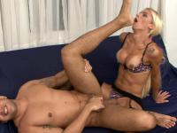 Dani and Senna tranny and pussyguy on video