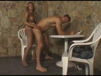 Carla and Paulo tranny dicking boy on video