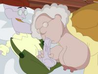 Old couple from Courage the Cowardly Dog goes nasty