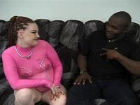 Pregnant Silver Squeals On Black Cock