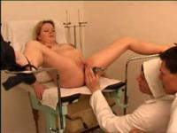 Two horny doctors get into plump mama�s pinkie