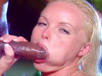 Silvia Saint having group sex outside fucking and sucking