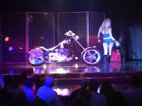 Pornstar Tera performing at Harley Davidson show in here !