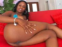 Ebony Booty Ho Cock-Rocked By Black Stud