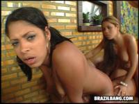 Big butt brazilian fuck party