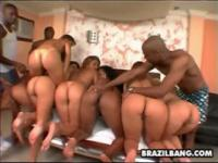 Lots of big phat brazilian bootys