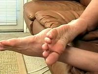 Hot Foot Sex Action