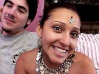 Watch this indian threesome featuring a beautiful pornstar Kareenah and two lucky studs
