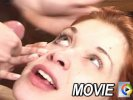 Movies showing a redhead getting throat fucked