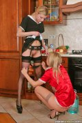 Lesbian maids fun. Maids found replacement for work