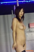 Busty Japanese stripclub honey toying her tight wet pussy