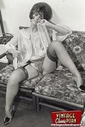 Very hot vintage girls wearing stockings in the fifties