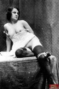 Vintage girls wearing very sexy underwear in the twenties
