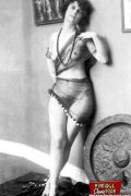 Daring vintage girls wear exotic costumes in the twenties