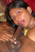 Lustful babe rides a fat cock.