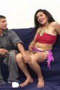 This Hindu girl cannot speak English but she sure can fuck