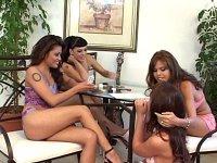 Strip Poker Lesbians