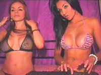 JanesaAndCharlize's Webcam Show Jan 15 part 2/2